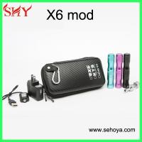 Quality Kamry vape mod X6 with 1300mah battery kamry x6 e-cig wholesale for sale