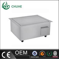 China built in induction griddle cooker with 220v for kitchen equipment wholesale