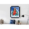 China Jesus Design God 3D Lenticular Flip Effect With CMYK Printing Size 30*40cm wholesale