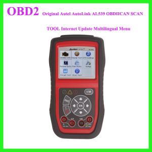 China Original Autel AutoLink AL539 OBDIICAN SCAN TOOL Internet Update Multilingual Menu wholesale