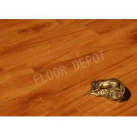 China Home Thickness 8mm HDF Laminate Wood Tile Flooring Arb2 V Groove EIR Cherry Color wholesale