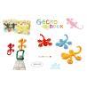 Buy cheap TOWEL HANGER - GECKO DESIGN - 2 PCS. SET - 4 DIFFERENT COLORS from wholesalers