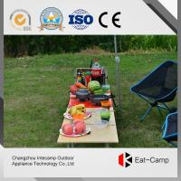China Outdoor Folding Square Kitchen Storage Boxes With Windproof Stoves 40L wholesale