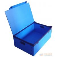 China Recyclable Reusable Moving Storage Corrugated Plastic Boxes correx box White / blue wholesale