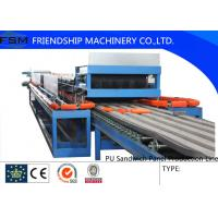 Buy cheap Automatic Continuous PU Sandwich Panel Production Line For 25mm - 100mm from wholesalers