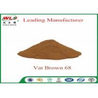 China 100% Purity Synthetic Dyes C I Vat brown 68 Brown G Not Dissolved In Water wholesale