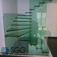 China toughened glass factory tempered glass stair 8mm 10mm 12mm 15mm 19mm wholesale