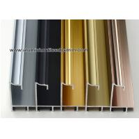 China Superior Aluminium Picture Frame Moulding Profiles With Concave Surface wholesale