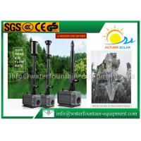 China 5500L / H Waterproof Water Fountain Submersible Pump Wear Resistant 240v wholesale