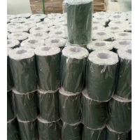China Black Aluminium Foil Tape For Wrapping Of Insulation Covered steel And Tanks on sale