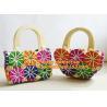 China new fashion octopods tassel woven rattan casual beach bag trend bolsas femininas womeen wholesale