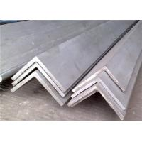 China JIS , DIN 316 / 316L Stainless Steel Angle Iron / Bar Cold Drawn For Bridge wholesale