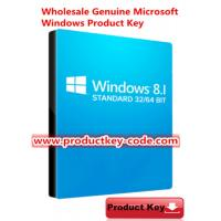 China Free Upgrade to Windows 10 , Windows 8 Product Key Code, Windows 8.1 Standard Activation Key FPP Download on sale