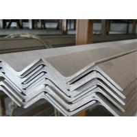 China Easy Welded Stainless Steel Angle Bar , Brushed Stainless Steel Angle  Hot Rolled wholesale