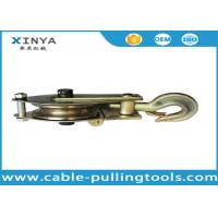 China 3T Single Wheel Wire Rope Pulley Block,Hoisting Pulley Block With One Side Open wholesale