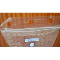 China Transparent Or Print Strawberry / Cherry / Grape Bag With Holes wholesale