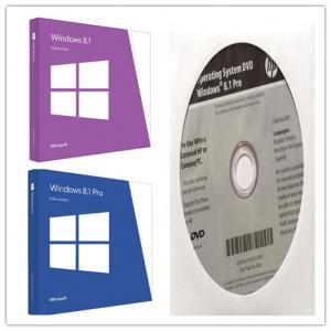 China Valid Windows 8.1 Pro Full Version , Win 8.1 Pro License With Multi Language wholesale