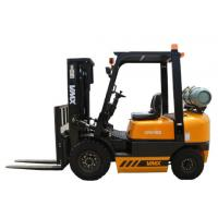 China Four Wheel Counterbalance Gas Forklift Truck With Side Shifter Customized wholesale