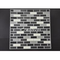 China Bright Metallic Gel Wall Tiles , Decorative Stickers For Bathroom Tiles wholesale