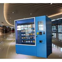 China Automatic Operated Frozen Food Refrigerated Vending Machines Made From Reliable Steel wholesale