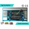 China Automated Rotary Egg Tray / Fruit Tray Moulded Machine 4000pcs/h wholesale