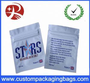 Custom Design Packaging Plastic Ziplock Bags Herbal Incense Pouch