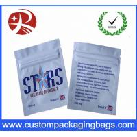 Quality Custom Design Packaging Plastic Ziplock Bags Herbal Incense Pouch for sale