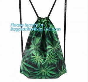 China Recycled foldable polyester bag,Custom logo printed basketball backpack 210D polyester printing drawstring bag bagease on sale