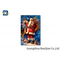 China Customized PET 3D Printed Christmas Card / Lenticular Card Printing on sale