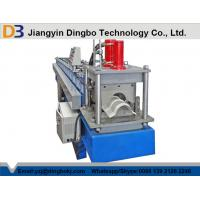 China ISO SGS CE Metal Ridge Cap Roll Forming Machine 12 Months Warranty wholesale
