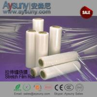 China LLDPE stretch film roll Shrink wrapping film material for pallet package wholesale