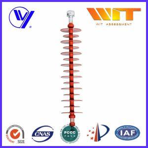 China 35KV High Voltage Polymer Suspension Insulators for Power Transmission wholesale