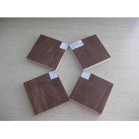 Dark Brown / Red waterproof paint plywood / film faced plywood sheet for