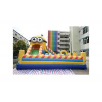 Buy cheap Interesting Minion Themed Inflatable Amusement Park For Rental from wholesalers