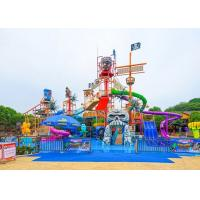 China Aqua Park Playground Equipment / Amusement Theme Water House For Resort wholesale