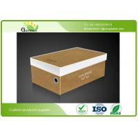 Quality UV Coating Shoes Cardboard Packaging Boxes with Printed Logo Customized for sale