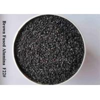 China 95% Al2O3 Brown Fused Alumina Aluminum Oxide Blasting Media F12-F24 , F30-F36 , F40-F220 wholesale