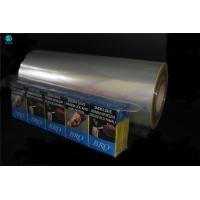 China 360mm Polyvinyl Chloride Film For Food Packaging PVC Packaging Film For Cigarette Box wholesale
