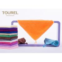 China Cut Pile Cotton Bath And Face Towels Customised Durable 35x35 wholesale