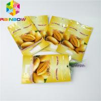 250g 500g Dries Fruit Foil Pouch Packaging Custom Foil Lined Bottom Gusset Stand Up Bags