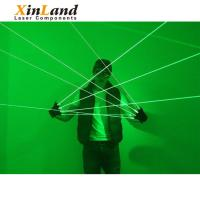 China 2018 the Cheapest long distance bar cool green laser lighting gloves wholesale
