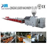 China pvc/upvc window and door profile extrusion machine on sale