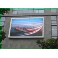 China Customized Large Outdoor Led Display Screens , Outdoor Led Message Board For Train Station 50W wholesale