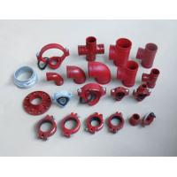 China FM/UL approved ductile iron grooved fittings wholesale