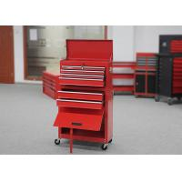 China Metal Garage Storage Rolling Tool Chest Cabinet Combo With Durable Door wholesale