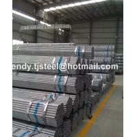 China HENGXING GROUP Building material/ Hollow tubes / Fence thin wall Q235 Hot dip zinc coated GI galvanized wholesale