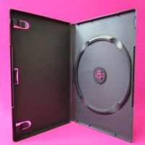 China Black single DVD case wholesale