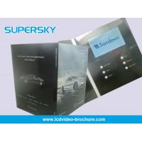 Quality 2G Built - In Screen LCD Video Greeting Card For Graduations , Birthday Parties for sale