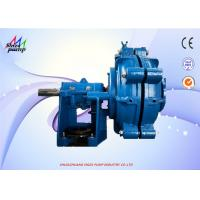 China 8 / 6 E-AH Wear Resistant High Pressure Slurry Pump With Metal Replaceable Liners wholesale