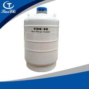 China TianChi liquid nitrogen gas cylinder 30L  Palau Aviation aluminum color  manufacturers wholesale